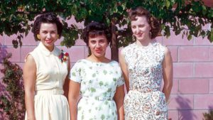 Sheila Zucman, Mary Perez & Betty Perez.