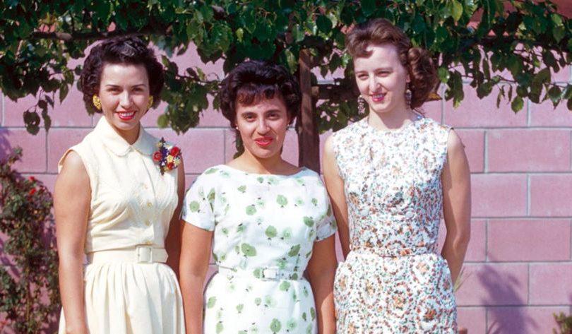 Sheila Zucman, Mary Perez & Betty Perez.