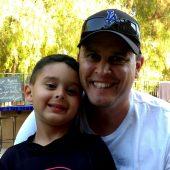 Matthew Perez & Kevin Perez at a backyard party