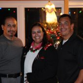 Bab Espinosa with her brothers Roger & Rocky