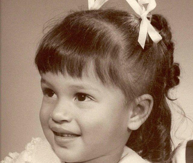 childhood portrait of Rosemary Hernandez