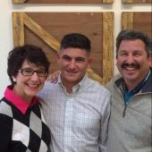 Kathryn, Maxton & Danny Perez.